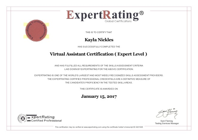 vacertification